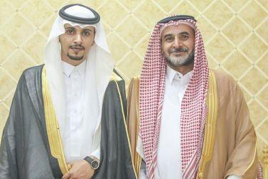 الشاب / محمد بن سيف الرويس يحتفل بزواجه