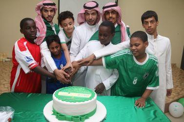 دار التربية بشقراء تحتفل باليوم الوطني