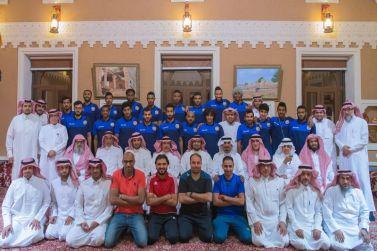 امانه مجلس اهالي شقراء تحتفي بأعضاء إدارة نادي الوشم ولاعبي الفريق الاول لكرة القدم