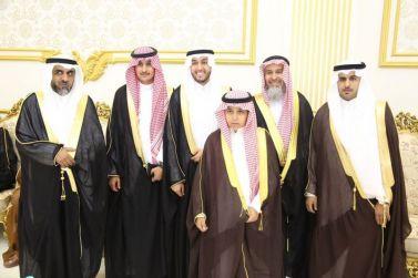 الشاب سليمان بن محمد الحامد يحتفل بزواجه