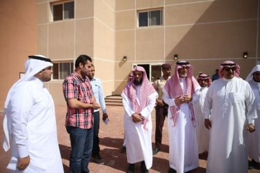 د . عدنان الشيحة يعلن انتقال الطالبات للمباني الجديدة الفصل المقبل بمحافظة حريملاء وثادق
