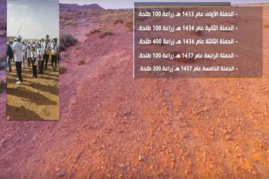بلدية أشيقر تستعد لتدشين الحملة السادسة لتشجير منتزه الرايغه البري