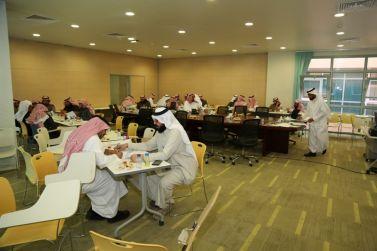 بحضور معالي الدكتور عوض الأسمري فريق مشروع الخطة الإستراتيجية يعقد ورشة عمل بناء الخطط لقطاعات جامعة شقراء