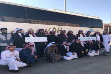 وفد سياحي من الباحة يزور  مدينة الرياض