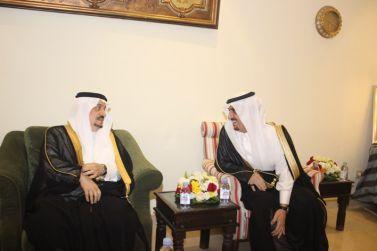 امير الرياض في ضيافة الدكتور/عبدالله المانع