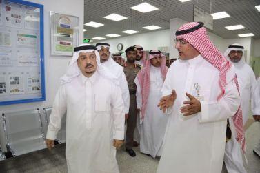 سمو أمير الرياض وسمو نائبه يتفقدون مستشفى محافظة شقراء