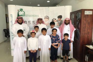 الشيخ سامي البواردي يزور فرع جمعية إنسان الخيرية بشقراء
