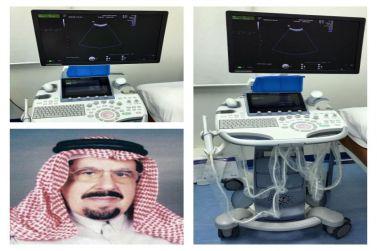 الشيخ عبدالعزيز بن إبراهيم المهنا يتبرع بجهاز موجات فوق الصوتية لمستشفى شقراء