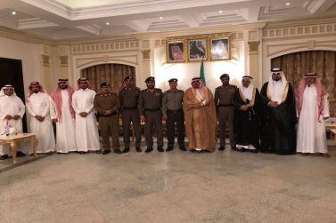 محافظ شقراء يتلقى مبايعة المواطنين في تولي الأمير محمد بن سلمان ولاية العهد