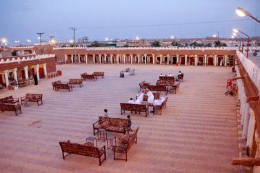 القرية التراثية بشقراء تفتح أبوابها للزوار ثاني أيام عيد الفطر
