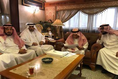 أمير منطقة الرياض يشكر الجميح على تبرعهم لجمعية إنسان