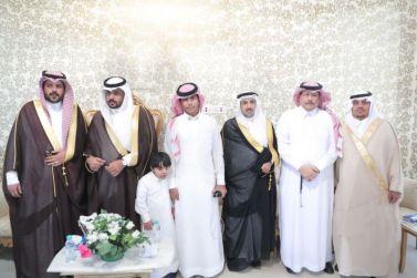 يزيد عبدالعزيز الشويرخ يحتفل بزفافه على كريمة الاستاذ حمد بن محمد الخريجي