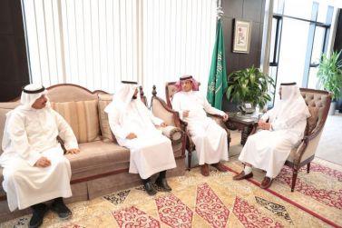 مدير جامعة شقراء يستقبل الدكتور خالد الشبانة ويبحث معه إمكانية أفتتاح مدارس في المدينة الجامعية