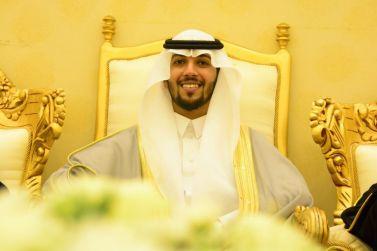 الشاب ناصر بن عبدالرحمن الحميد يحتفل بزواجه