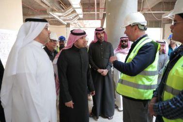 سمو الأمير الدكتور: ممدوح بن سعود يتفقد عدداً من مشروعات المدينة الجامعية بشقراء