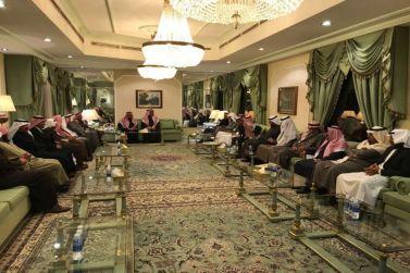 الجميح يحتفي بوكيل محافظة شقراء عبدالله المديميغ