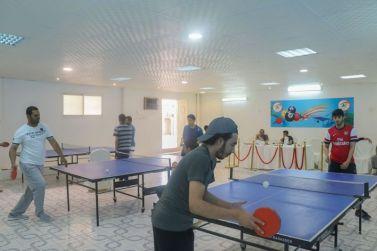 إختتام دورة تنس الطاولة الأولى المقامة في مقر بيت الشباب