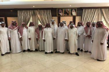 محافظ شقراء البواردي يستقبل رئيس واعضاء فرع الغرفة التجارية بشقراء