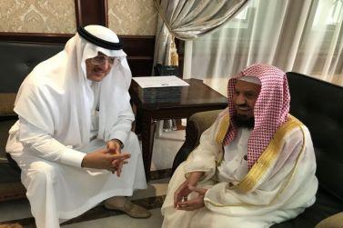 محافظ شقراء يستقبل الشيخ المنيع ورجل الأعمال الرقيب والبليهد والغربي وعدد من المواطنين