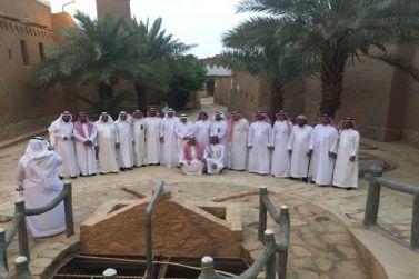 عدد من أعضاء مجلس الشورى في زيارة لشقراء