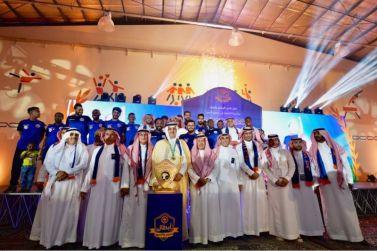 بحضور جمهوره .. الوشم يحتفل بالثانية والصعود لدوري ولي العهد