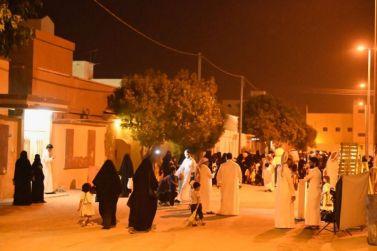 ابتسامة الأطفال في تشرط حي الغدير بشقراء