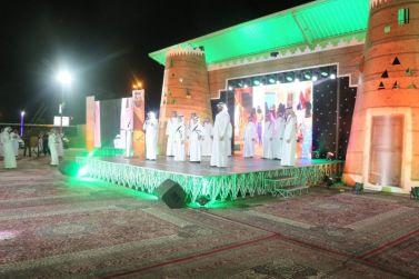 شقراء تحتفل بالعيد بالعرض والقصيد اوبريت عيد ووطن مجيد