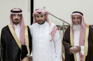 الشاب خالد الفضل يحتفل بزواجه