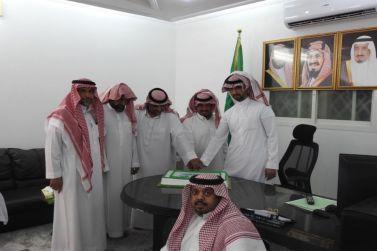 مكتب الإشراف والدعوة والإرشاد بالقصب يحتفي بمناسبة اليوم الوطني