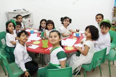 لجنة التنمية بالقصب ترعى احتفالات تعليم شقراء باليوم الوطني وتنظم برامج وطنية خاصة لأطفال روضة القصب الأهلية