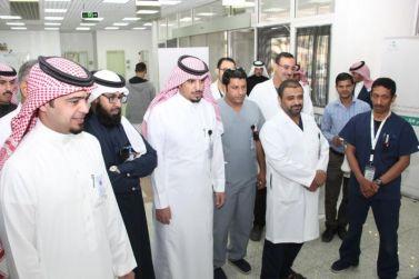 مدير مستشفى شقراء يدشن فعاليات اليوم العالمي للأشعة