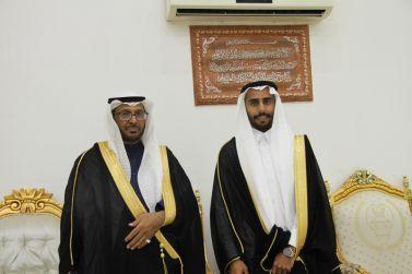 الشاب عصام الجميعي يحتفل بزواجه على كريمة عبدالله المزيني