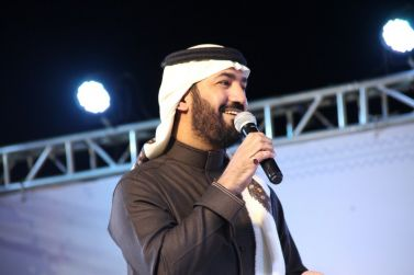 ختامية مهرجان ربيع شقراء مع الدكتور المنشد فهد مطر