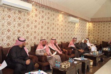 الأجتماع التحضيري لأسبوع البيئة بمحافظة شقراء