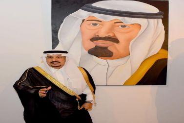 أمير منطقة الرياض يطلق معرض الفن التشكيلي للأميرة هيفاء بنت عبد الله