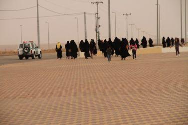 ٦٠ سيدة و١٥ طفل في فعالية المشي ضمن أنشطة لجنة سيدات الأعمال بغرفة الرياض فرع شقراء