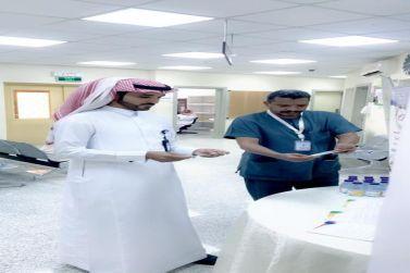 مدير المركز الصحي الأول بشقراء يطلق الحملة التوعوية لمرض الربو
