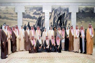 امير منطقة الرياض يرأس اجتماع المحافظين الأول