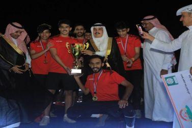 محافظ مرات يرعى المباراة النهائية لبطولة بلدية محافظة مرات الرمضانيه الثانية