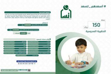 جمعية إنسان بشقراء تستعد للعام الدراسي الجديد بتسويق الحقيبة المدرسية