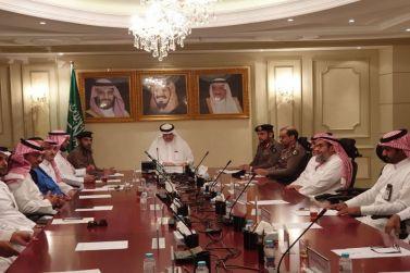 لجنة الدفاع المدني بمحافظة شقراء تعقد إجتماعها
