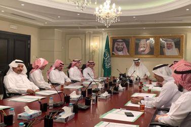 لجنة التنمية السياحية تناقش احتفال اليوم الوطني في مقر نادي الوشم
