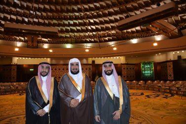 الدكتور إبراهيم أبوعباة يحتفي بزفاف كريمته إلى الشاب فيصل القاسم