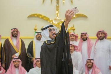 زواج عبدالعزيز بن سعد الصويلح من كريمة عبدالرحمن بن مبارك المنيع .