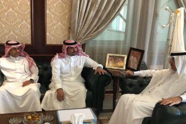 محافظ شقراء يستقبل وكيل المحافظة ورئيس مركز الحريّق بعد مباشرتهما العمل