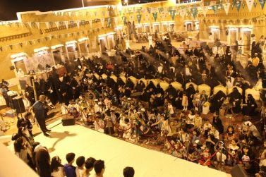 استمرار فعاليات اليوم الوطني89 بشقراء في سوق المجلس التاريخي والخيمة الشعبية بسوق حليوة