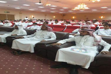 حضور مميز من طلاب وطالبات المرحلة الثانوية لدورة القدرات بشقراء