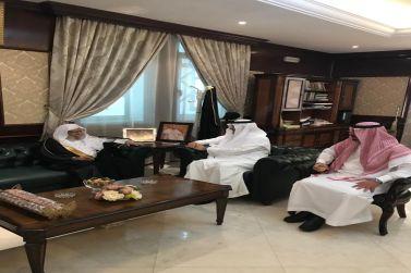 محافظ شقراء يستقبل معالي الشيخ الدكتور عبدالله التركي