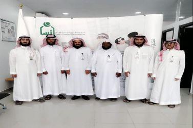 فرع جمعية إنسان بشقراء يستقبل فرع الافلاج
