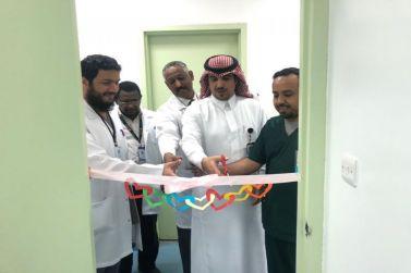 نائب مدير مستشفى شقراء يفتتح عيادة المشورة الدوائية